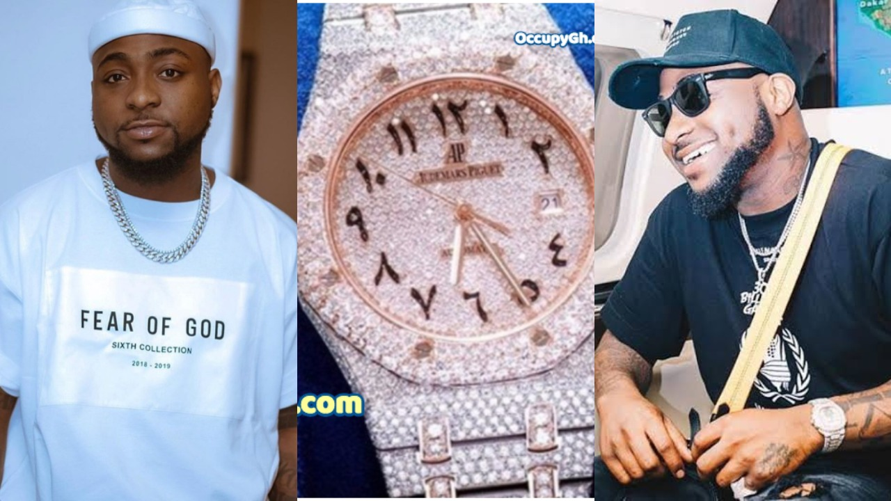 Image result for Davido's $30,000 Wrist Watch