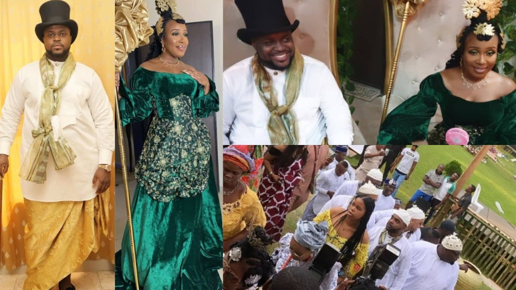 Photos from the Traditional Wedding of Davido's brother, Adewale Adeleke in Calabar