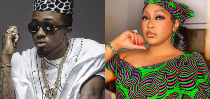 I love the Queen, Rita Dominic, she never fails to hold me down - Ice Prince