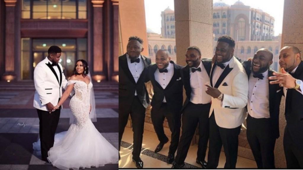 More Photos & Videos from Adewale Adeleke's lavish Dubai Wedding