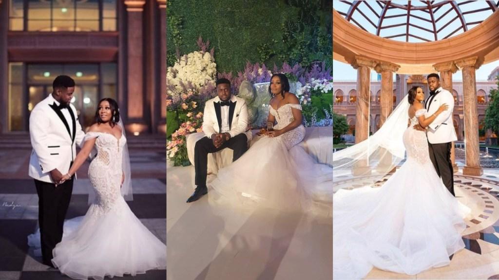 Davido's brother Adewale Adeleke shares beautiful Wedding Photo with his wife Kani