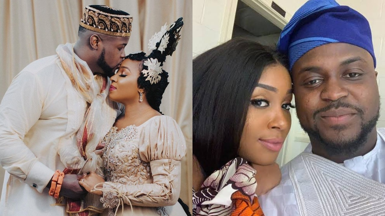 First wedding video of Davido's elder brother Adewale Adeleke with his heartthrob, Kani emerges online