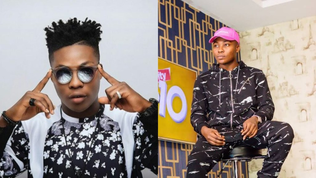 Reekado Banks replies a Twitter user who shamed him for not doing 'giveaways' like other celebs