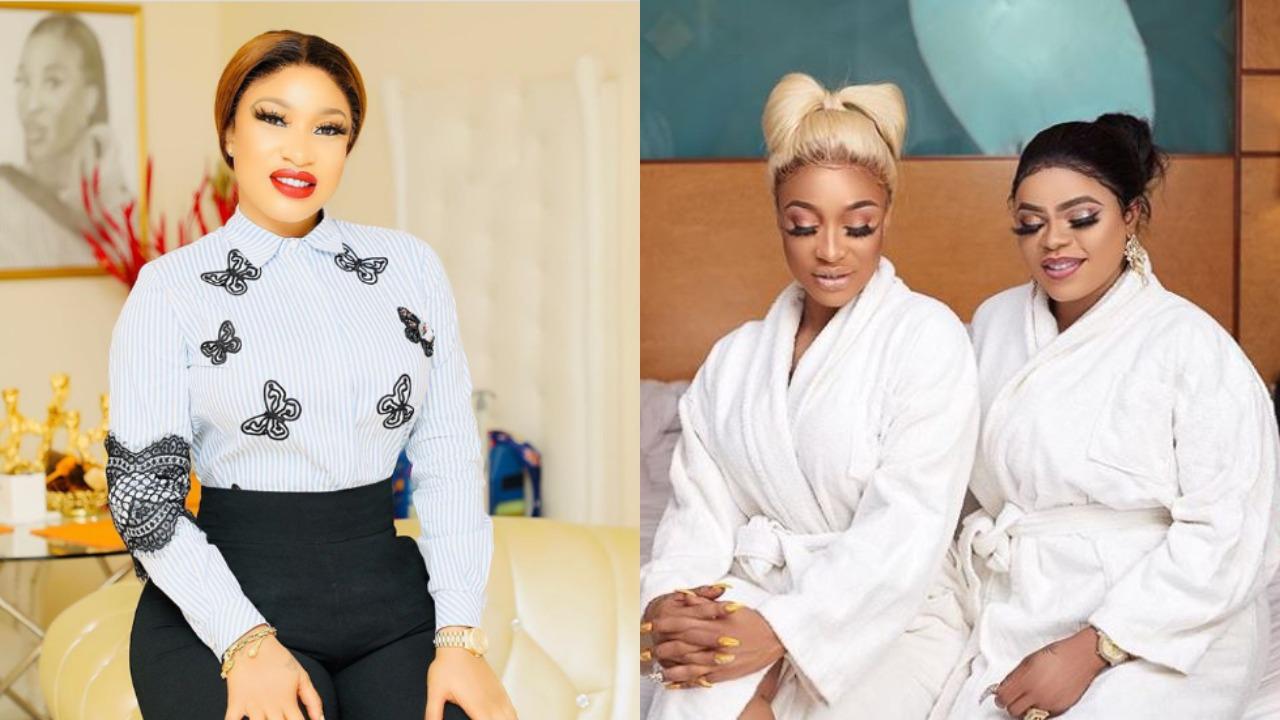Tonto Dikeh ignores Bobrisky, writes Open Letter to Real Women
