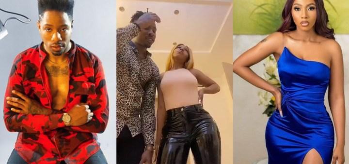 'Love is Drama' - Mercy Eke shares a Romantic video she made with her man, Ike Onyema