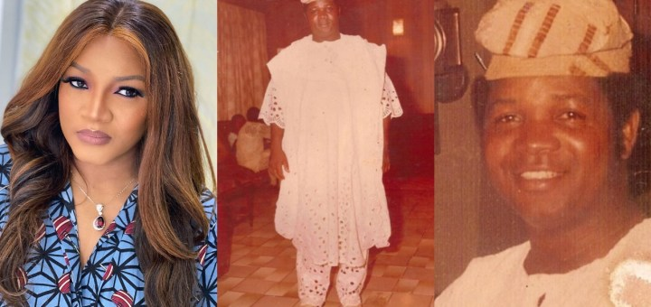 Actress Omotola Jalade-Ekeinde makes revelation about her Father's Death