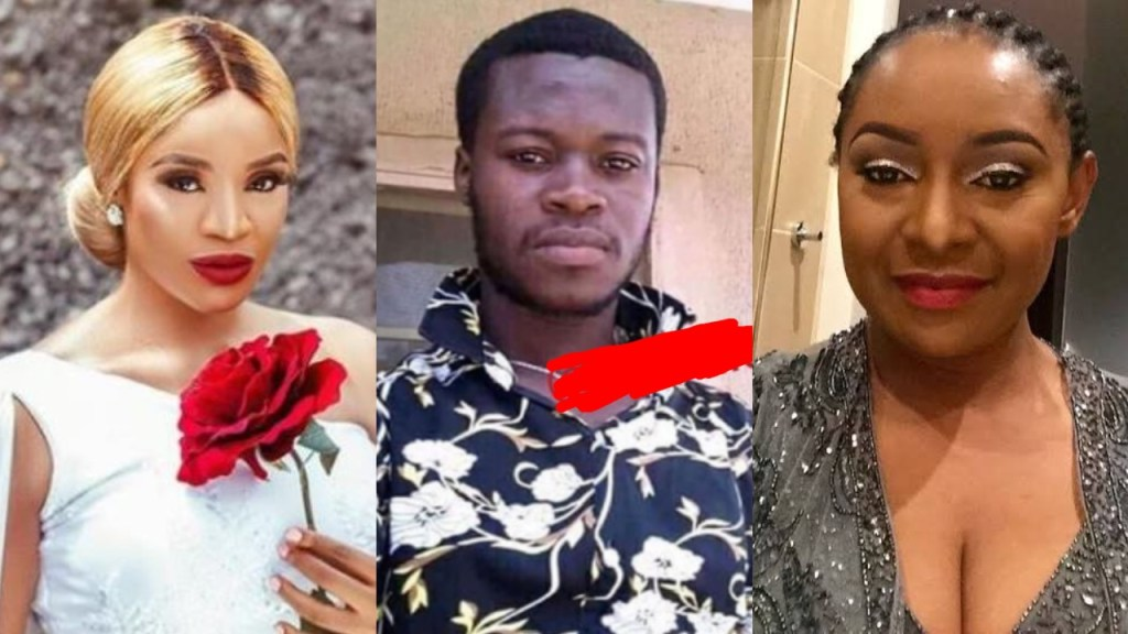 Uche Ogbodo, Victoria Inyama & other actors, slam a man after he revealed that he rapes women & he doesn't intend to stop