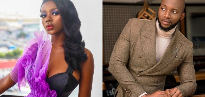 """#BBNaijaReunion: """"Big brother see what you caused"""" - Diane reacts after Tuoyo said she is not his spec (Video)"""