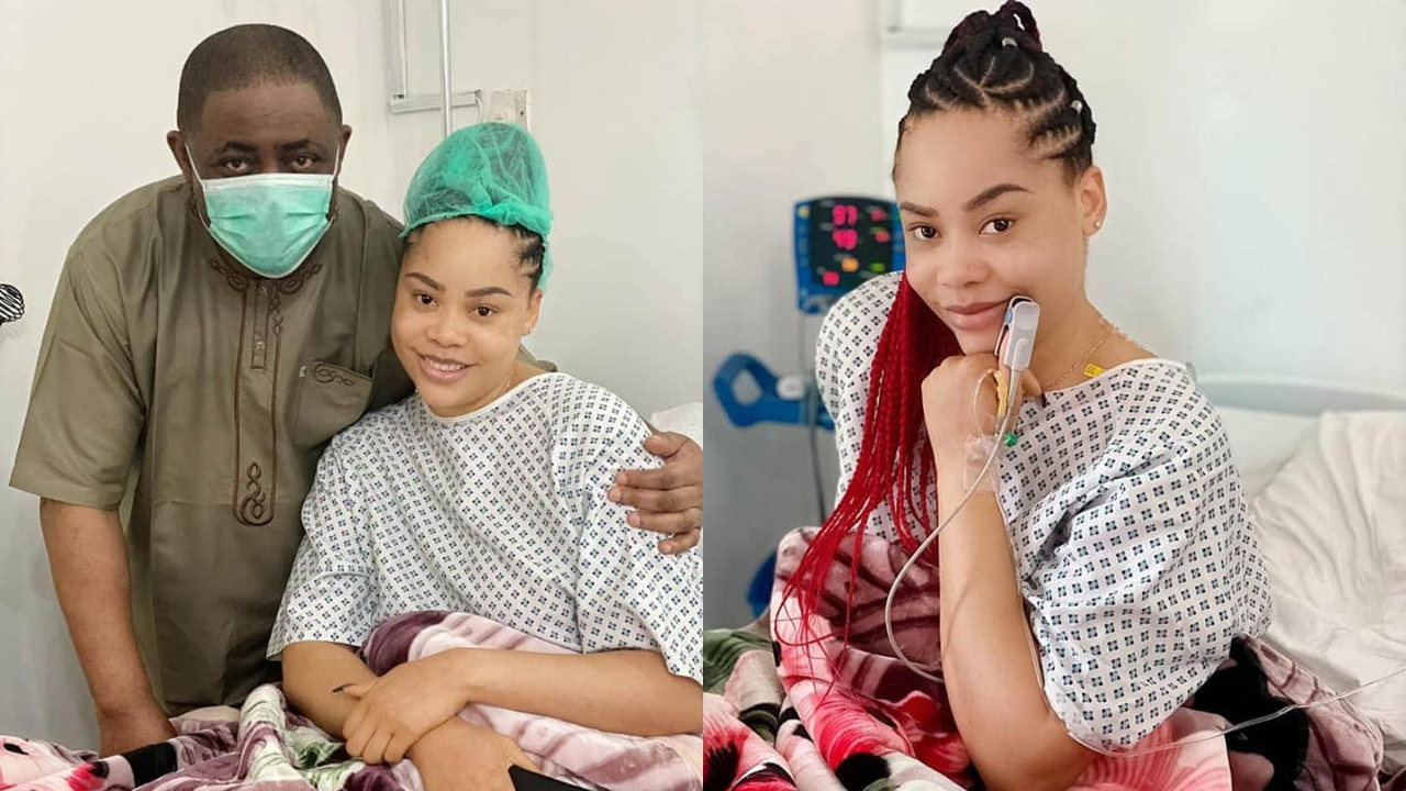 Femi Fani-Kayode Thankful After His Wife Underwent A Successful Operation (Photos)