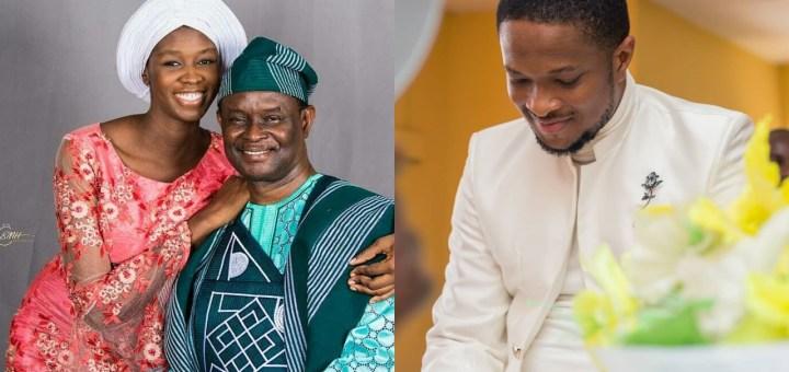 Evangelist Mike Bamiloye's last child, Darasimi set to wed music minister, Lawrence Oyor
