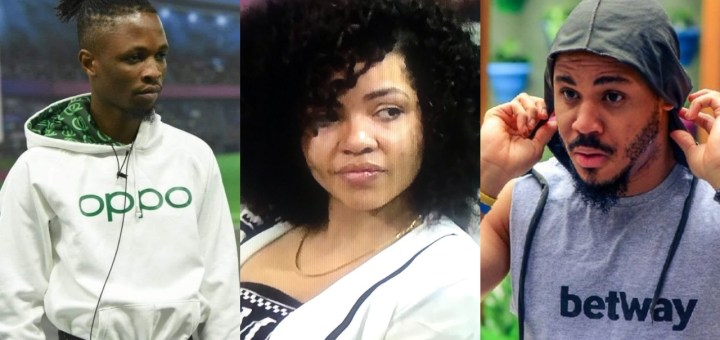"""#BBNaija 2020: """"You are you. If people don't like you for who you are' - Laycon advises Nengi on Ozo"""