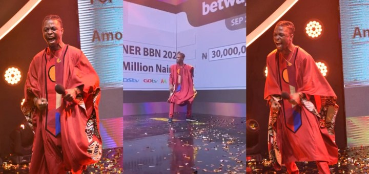 """I Love You Guys So Much"" - #BBNaija 'lockdown' winner, Laycon speaks after he was declared the winner (Video)"