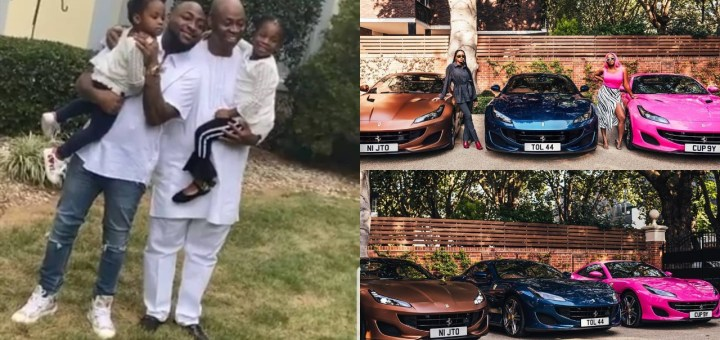 I will do same for my daughters one day, Amen - Davido taps into Femi Otedola's blessing
