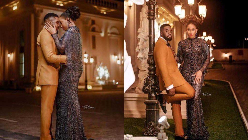 Williams Uchemba shares stunning pre-wedding photos with his fiancee, Brunella Oscar
