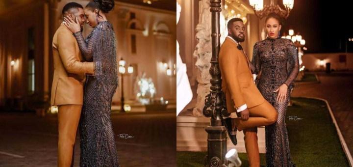 Williams Uchemba shares stunning pre-wedding photos with his fiancee, Brunella Oscar