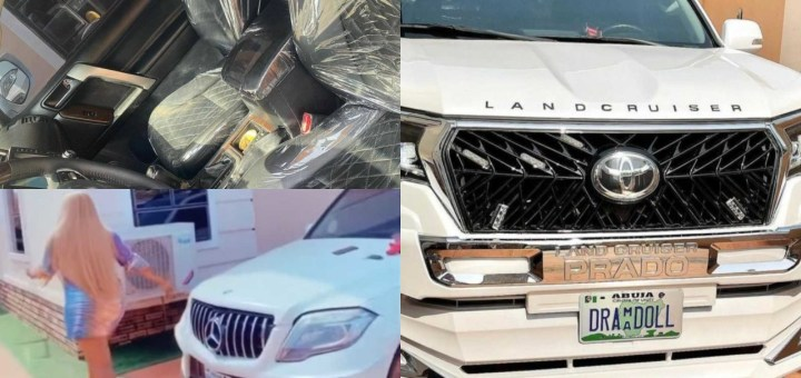 """""""An extra baby added to my garage"""" - Actress Destiny Etiko shows off her newest car (Video)"""