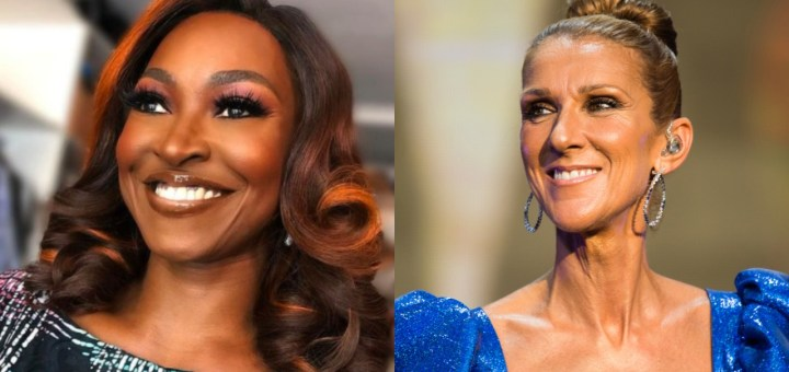 Nigerian celebrities call out singer Celine Dion over 'occultic' gender-neutral children's clothing line (Video)
