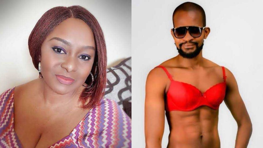 Poverty is fueling you - Actress Victoria Inyama slams her colleague Uche Maduagwu