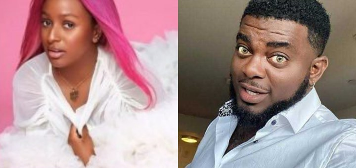 """""""Your career don die"""" - Kelly Hansome takes a swipe at DJ Cuppy"""