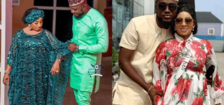 Mide Martins Allegedly In A Romantic Relationship With Younger Actor Kiki Bakare According To Nigerian Blogger