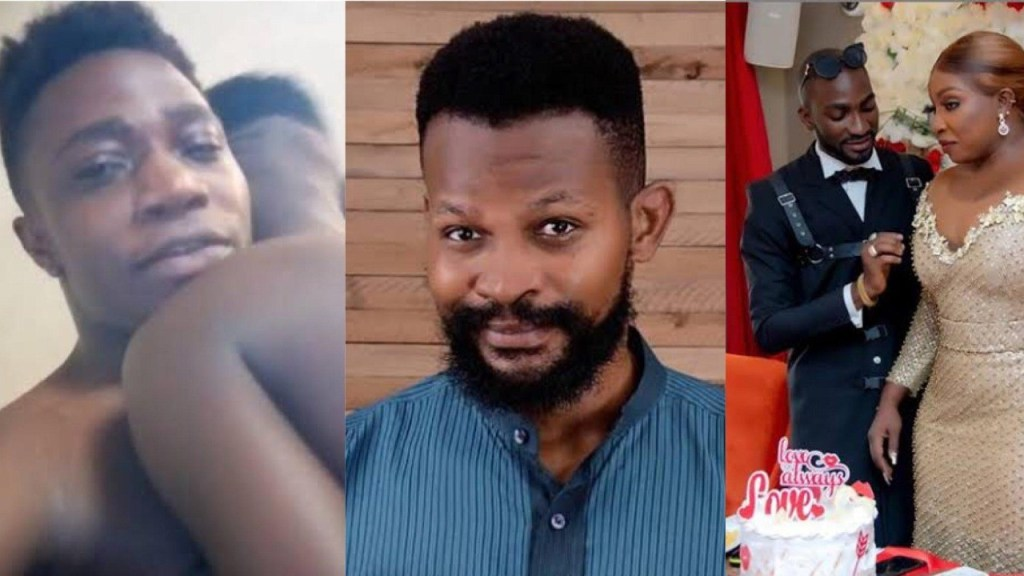 Openly Gay Chef Ayomide jumps in the defense of Uche Maduagwu, instructs Actress Anita & her husband to apologize
