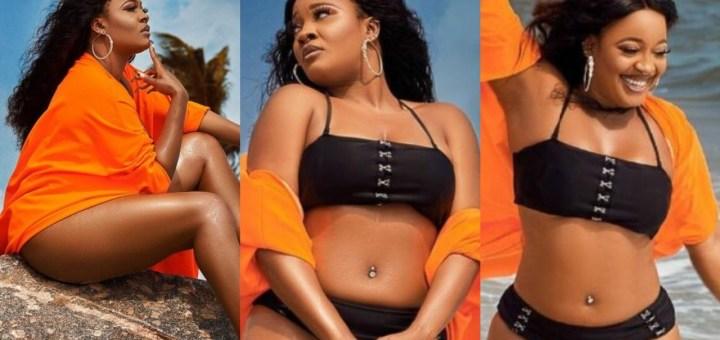 BBNaija's Lucy flaunts her banging body in new bikini photos