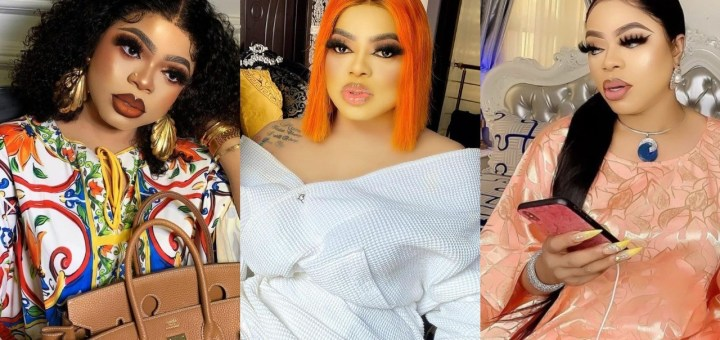 """""""Which Girl Can Compete ? """" - Bobrisky brags as he shares beautiful make-up photos."""