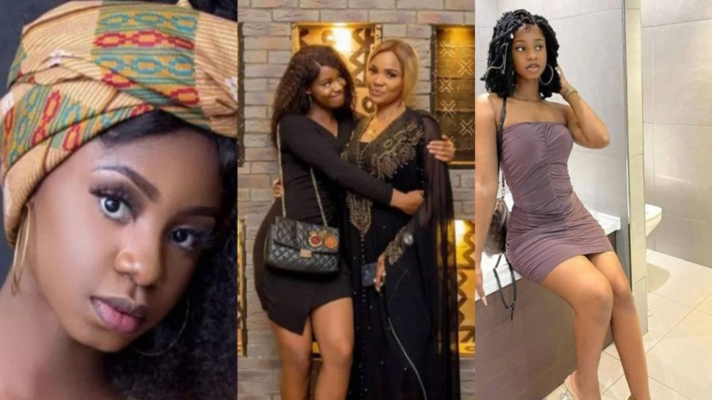 "23 Engaged 24 Wedding 25 Baby You Must Marry Early"" - Actress Iyabo Ojo Tells Daughter Priscilla (Video)"