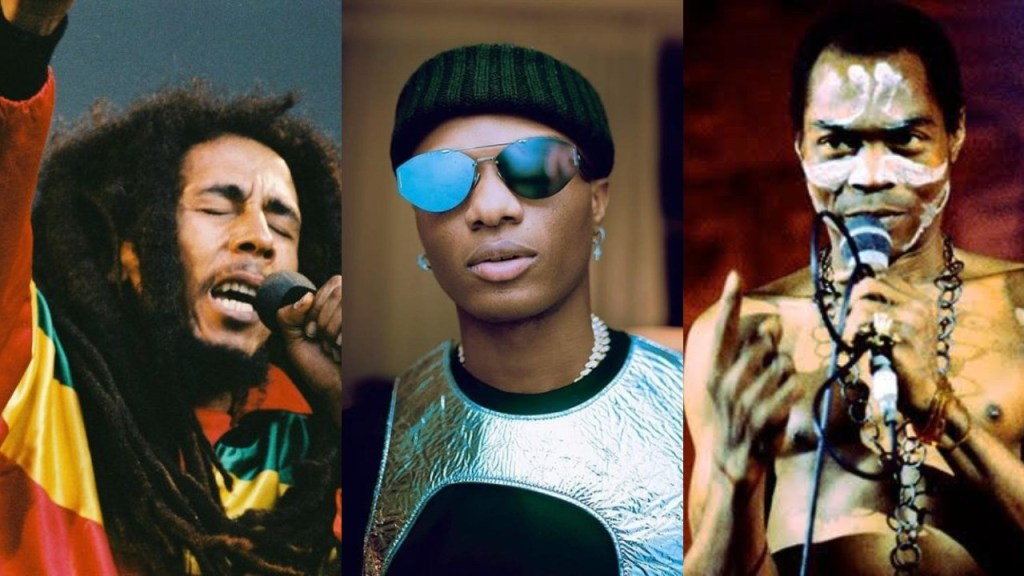 """I would have loved to have a collaboration with Fela & Bob Marley"" - Wizkid (Video)"