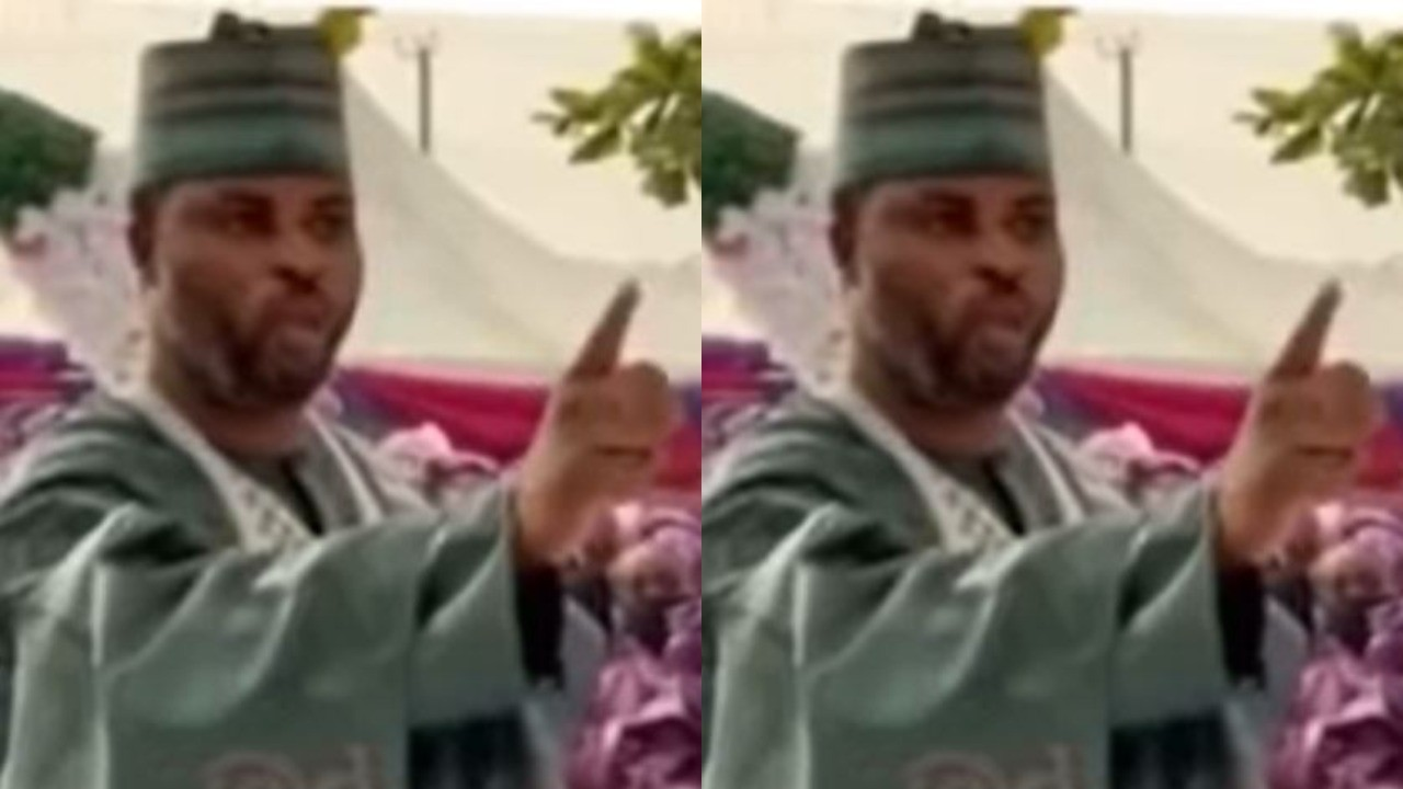 Watch moment a Groom refused to dance at his wedding and warned the MC to stop cajoling him to (Video)