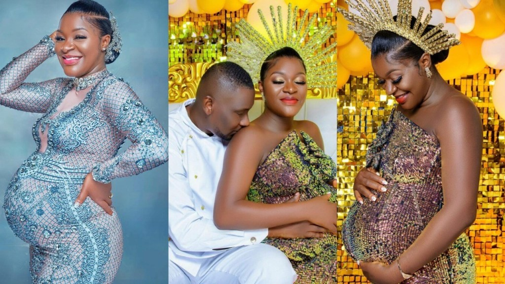 Actress Chacha Eke shares stunning photos as she's set to welcome her 4th child
