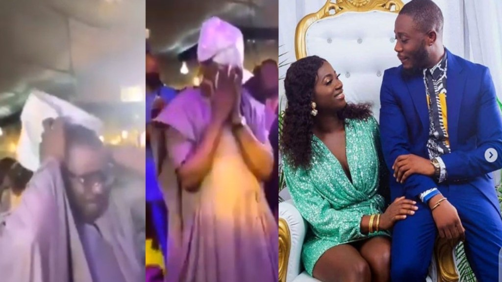 Emotional Moment Fuji King Pasuma Sheds Tears At His Daughter's Wedding (VIDEO)