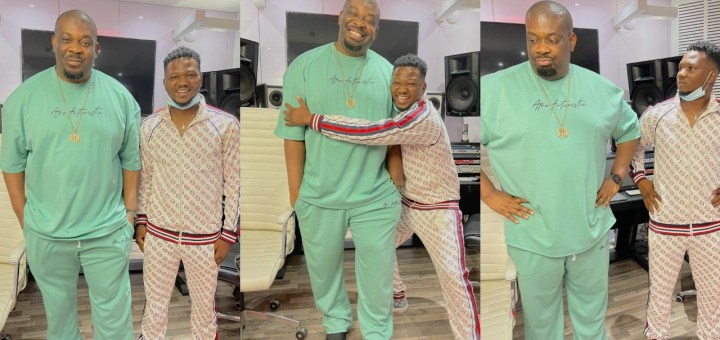 'E don happen!! E don shele! - Don Jazzy says as he unveils his new Marvin records signee