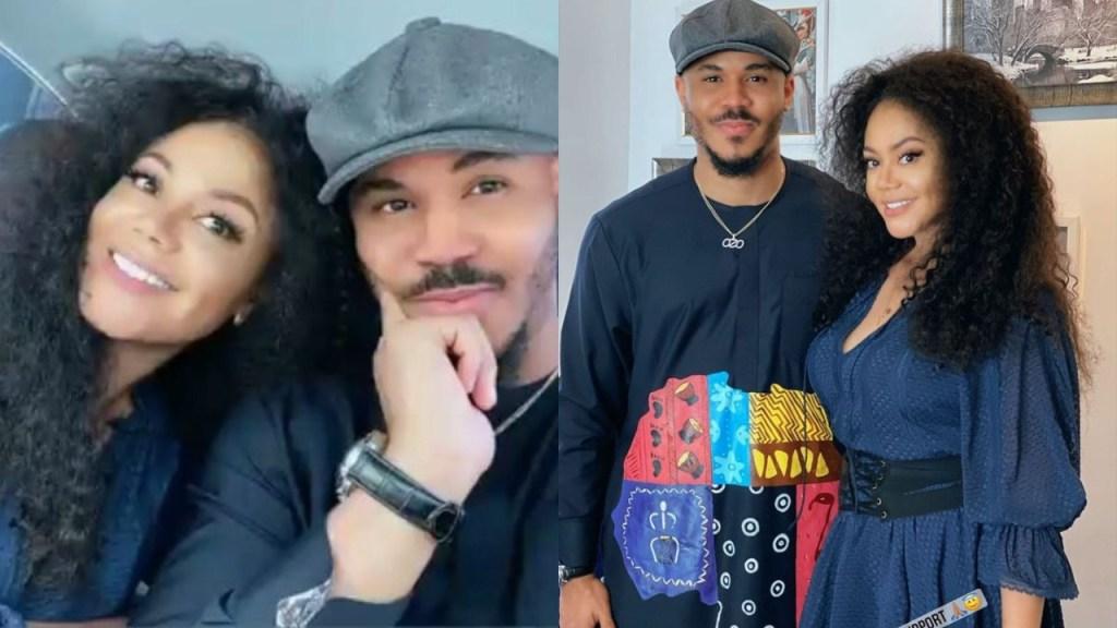 She fine pass Nengi - Fans gush to viral photos of BBNaija's Ozo & Nadia Buari together