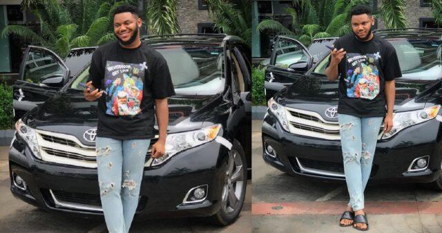 Actor Somadina Adinma buys himself a new car as a birthday gift