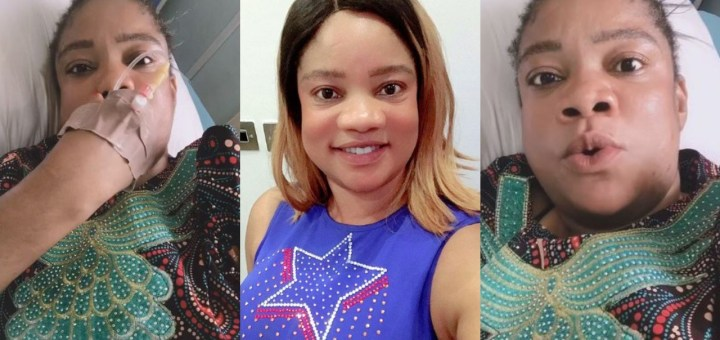 Actress, Opeyemi Aiyeola narrowly escapes being killed by self-medication