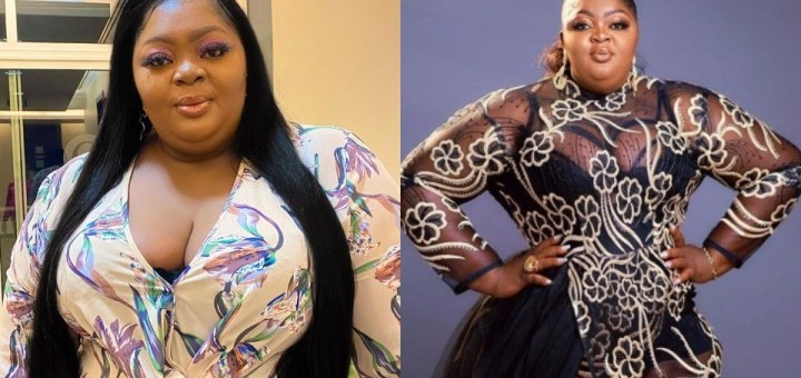 Actress Eniola Badmus gives an interesting response to a follower who asked if she's depressed