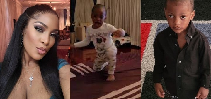 """""""My whole year is made"""" - Linda Ikeji excited as her son says 'I love you too' for the first time (Video)"""