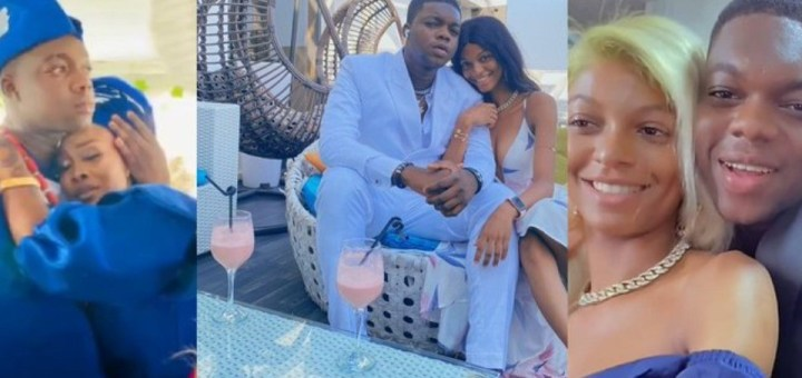 """""""Congratulations to you BRO"""" - Adeherself congratulates Comedian 'Cute Abiola as he secretly ties the knot with Original lover"""