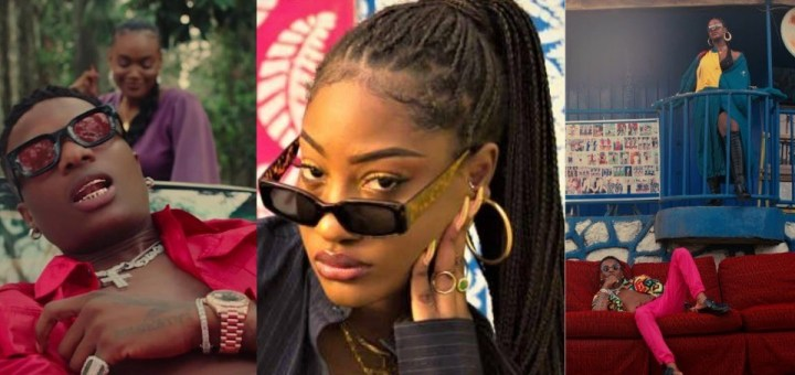 Tems opens up on her 'poor' performance on Wizkid song Essence