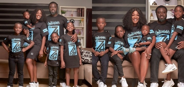 """""""I Always Teach my Kids That Family Needs Not be Perfect But United"""" - Mercy Johnson"""
