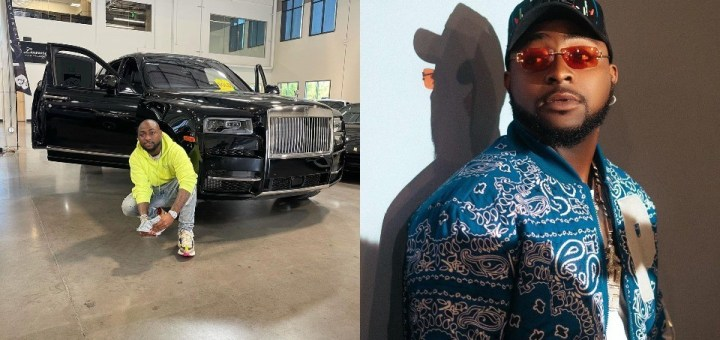 """""""You're misusing your wealth and making youths desperate"""" - Fan slams Davido for flaunting new car"""
