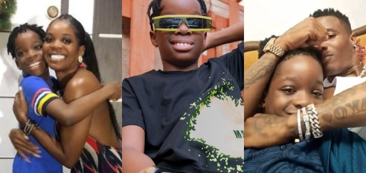 """""""It's almost time to take over the world"""" - Wizkid's first son Boluwatife set to release a song"""