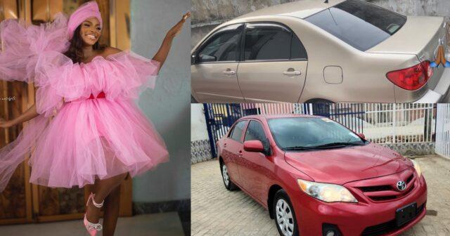 BBNaija's Wathoni buys her mom and dad a car each