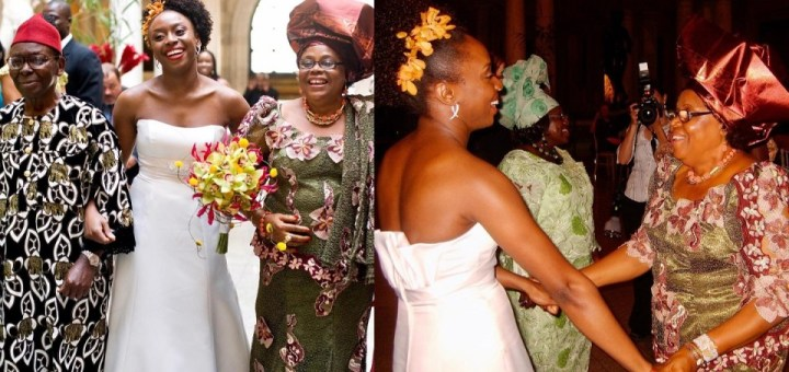 """""""I have always felt that western wedding traditions sideline the mother of the bride"""" - Renowned Writer, Chimamanda Adichie shares an interesting post"""