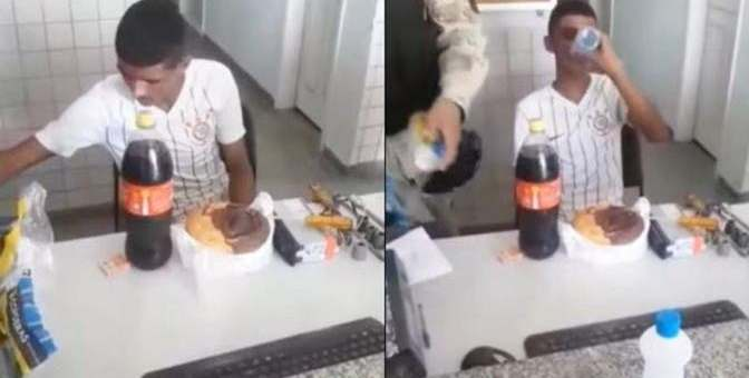 Police throw Surprise Party for Robber arrested on his 18th Birthday