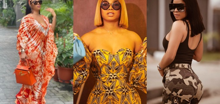 """""""You and Maje are mad"""" - Toke Makinwa slams a troll who attributed her fame and success to her ex-husband, Maje Ayida"""