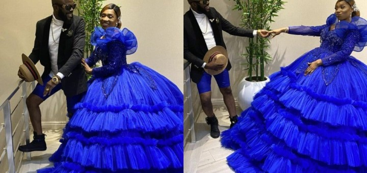 Actor, Chief Imo and wife celebrate their 10th wedding anniversary with lovely photos