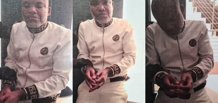 FG arrests IPOB leader Nnamdi Kanu (Photos)