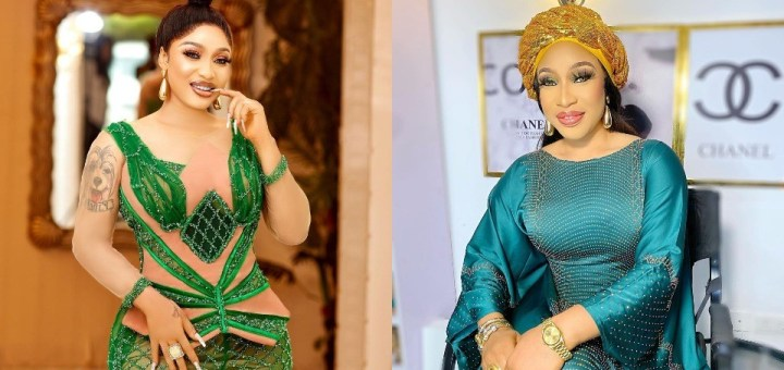 """""""A jealous demon may appear as a supportive angel"""" - Tonto Dikeh"""